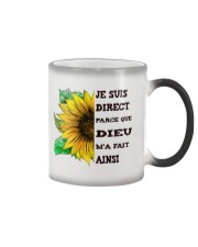 sunflower T-shirt - I'm blunt Color Changing Mug thumbnail
