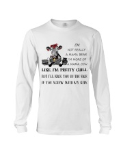 cow T-shirt - I'm more of a mama cow Long Sleeve Tee thumbnail
