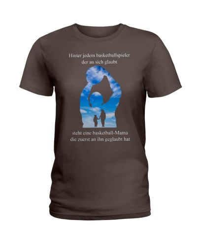 basketball T-shirt - to Mom  - basketball player