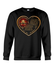 to my beautiful girlfriend Crewneck Sweatshirt thumbnail