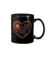 to my beautiful girlfriend Mug front