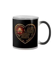 to my beautiful girlfriend Color Changing Mug thumbnail