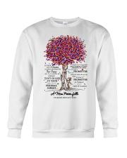 family mug - to granddaughter - never lose  Crewneck Sweatshirt thumbnail