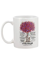 family mug - to granddaughter - never lose  Mug back