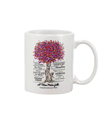 family mug - to granddaughter - never lose