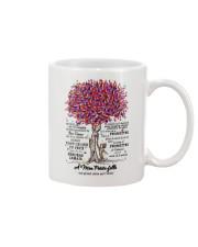 family mug - to granddaughter - never lose  Mug front