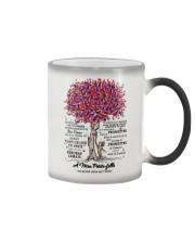 family mug - to granddaughter - never lose  Color Changing Mug thumbnail
