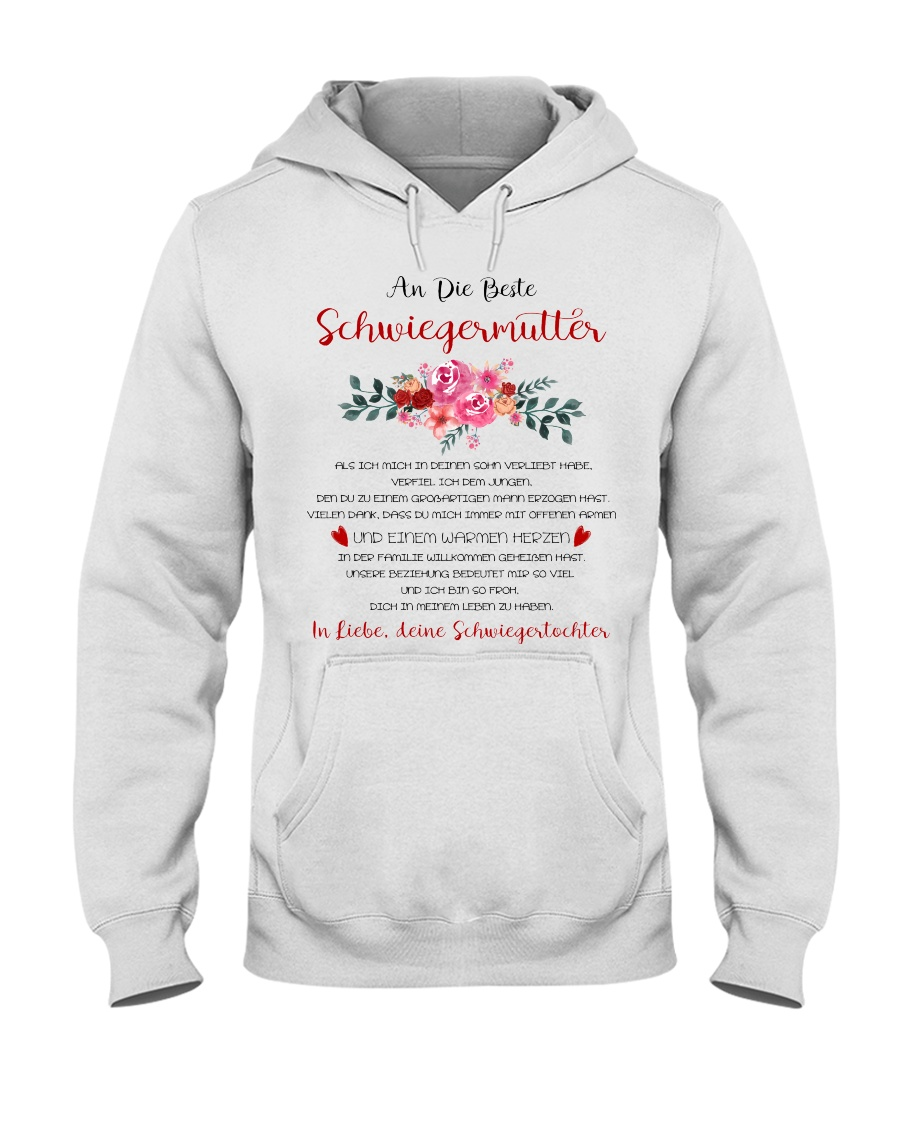 family T-shirt - to mother-in-law Hooded Sweatshirt