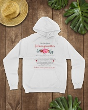 family T-shirt - to mother-in-law Hooded Sweatshirt lifestyle-unisex-hoodie-front-7