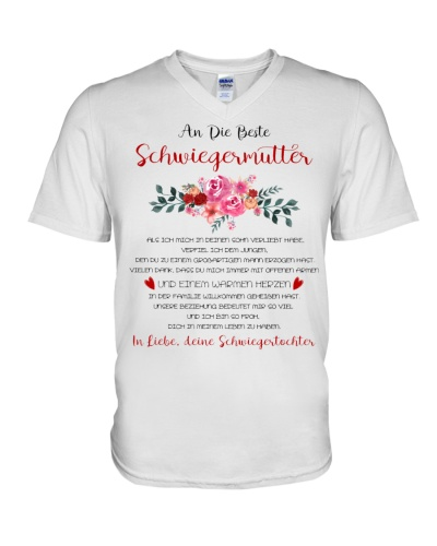 family T-shirt - to mother-in-law