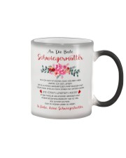 family T-shirt - to mother-in-law Color Changing Mug thumbnail