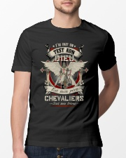 knight T-shirt - knights are my brothers french vs Classic T-Shirt lifestyle-mens-crewneck-front-13