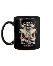 knight mug - knights are my brothers Mug back