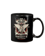 knight mug - knights are my brothers Mug front