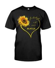 sunflower mug - being a Nana french vs Premium Fit Mens Tee thumbnail