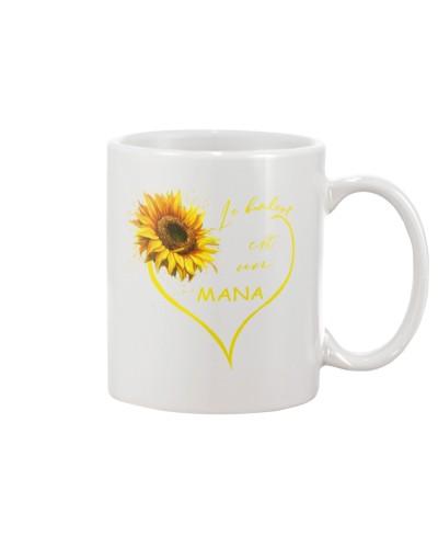 sunflower mug - being a Nana french vs