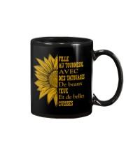 sunflower T-shirt - to girl with tatoos Mug thumbnail