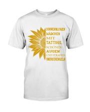 sunflower T-shirt - to girl with tatoos Classic T-Shirt thumbnail