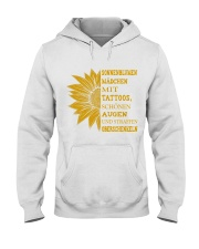sunflower T-shirt - to girl with tatoos Hooded Sweatshirt thumbnail