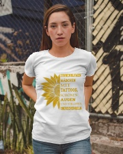 sunflower T-shirt - to girl with tatoos Ladies T-Shirt apparel-ladies-t-shirt-lifestyle-03