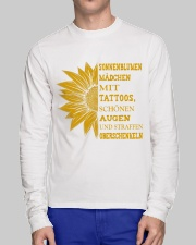 sunflower T-shirt - to girl with tatoos Long Sleeve Tee lifestyle-unisex-longsleeve-front-1