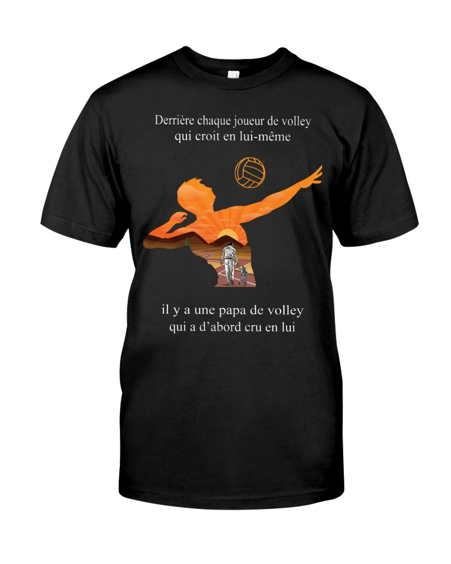 volleyball t-shirt-to dad-volleyball player Classic T-Shirt