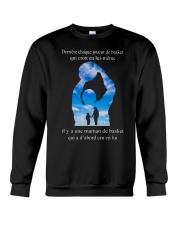 basketball T-shirt - Mom son - basketball player Crewneck Sweatshirt thumbnail
