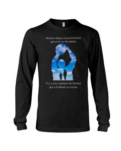 basketball T-shirt - Mom son - basketball player