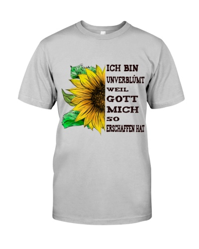 sunflower T-shirt - I'm blunt