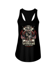 soldier T-shirt - Veterans are my brothers Ladies Flowy Tank thumbnail