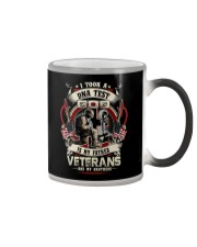 soldier T-shirt - Veterans are my brothers Color Changing Mug thumbnail