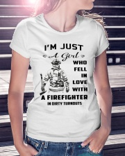 Firefighter A Girl Premium Fit Ladies Tee lifestyle-women-crewneck-front-7