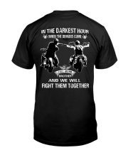 True victory is victory over oneself Classic T-Shirt back