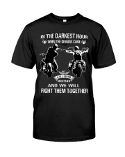 True victory is victory over oneself Classic T-Shirt front