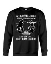 True victory is victory over oneself Crewneck Sweatshirt thumbnail