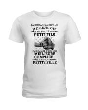 family T-shirt - I asked God French vs Ladies T-Shirt thumbnail