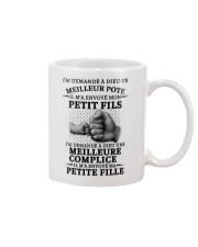 family T-shirt - I asked God French vs Mug thumbnail
