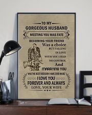 to my gorgeous husband 11x17 Poster lifestyle-poster-2