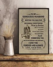 to my gorgeous husband 11x17 Poster lifestyle-poster-3
