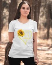 sunflower T-shirt - being a Nana Ladies T-Shirt apparel-ladies-t-shirt-lifestyle-05