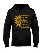 sunflower T-shirt - to girl with tatoos Hooded Sweatshirt thumbnail