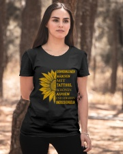 sunflower T-shirt - to girl with tatoos Ladies T-Shirt apparel-ladies-t-shirt-lifestyle-05