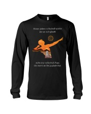 volleyball t-shirt-to dad-volleyball player Long Sleeve Tee thumbnail
