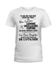 friendship T-shirt - You can't scare me Ladies T-Shirt thumbnail
