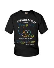 medical mug - we're trouble Youth T-Shirt thumbnail