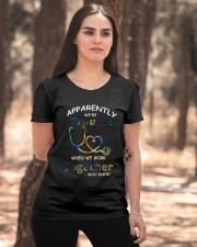 medical mug - we're trouble Ladies T-Shirt apparel-ladies-t-shirt-lifestyle-05