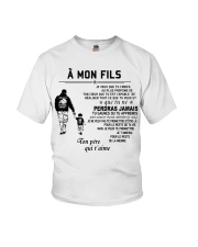 Make it the meaningful message to your son Youth T-Shirt thumbnail