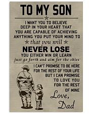 Firefighter Never lose 11x17 Poster front