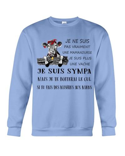 cow mug - I'm more of a mama cow french vs