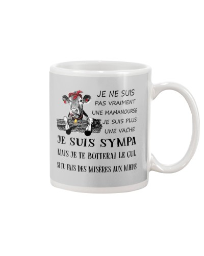 cow mug - I'm more of a mama cow french vs